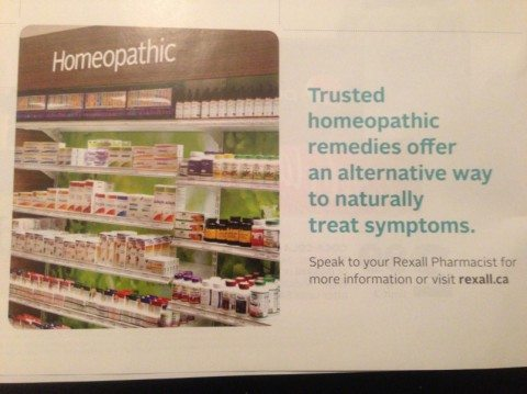 """Rexall: """"Trusted homeopathic remedies offer an alternative way to naturally treat symptoms"""""""