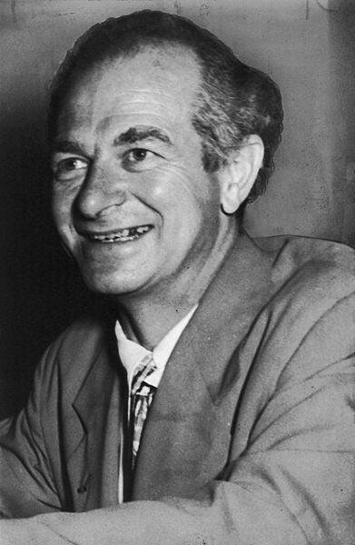 Linus Pauling, the Nobel-prize winning researcher who slid into quackery shortly after.