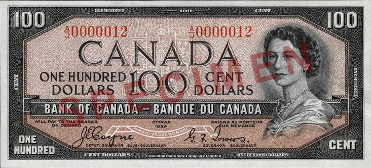 Obverse_of_$100_banknote,_Canada_1954_Series,_-Devil's_Head-_printing