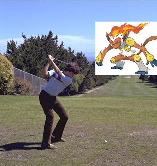 And now if you excuse me, I'm going to get back to trying to hit Infernape with golf balls. That's how Pokémon works, right?