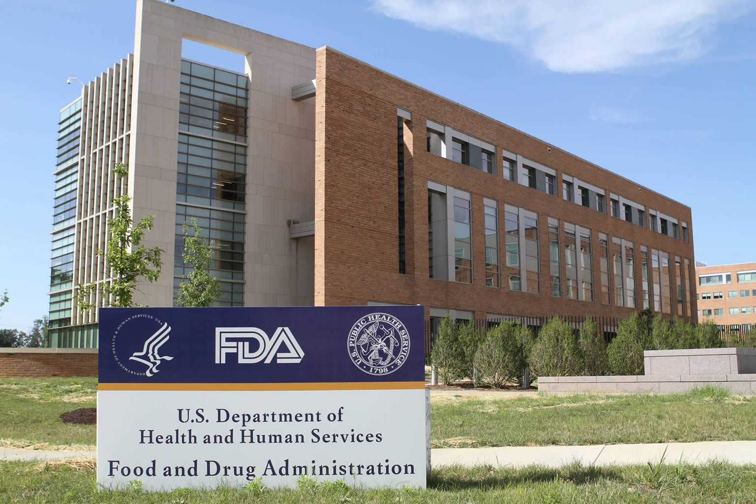 Food and Drug Administration building.